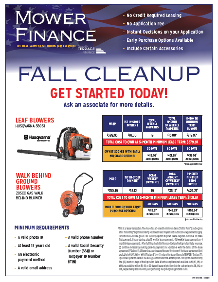 Fall Cleanup Flyer