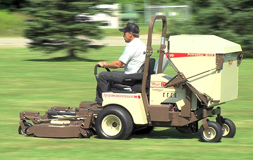 Grasshopper zero turn mower